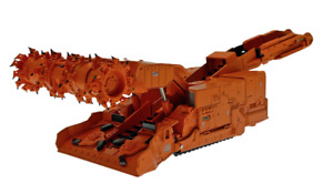 Komatsu Joy 12CM27 Continuous Miner - Weiss Bros 1:50 Scale Model #WBR029 New!