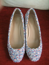PAIR OF M & S COLLECTION SHOES - SIZE 4, WIDE FIT - WORN ONCE