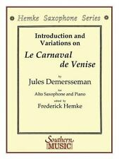 INTRODUCTION AND VARIATIONS ON LE CARNAVAL DE VENISE