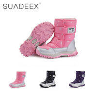 ec312b36f9b211 Mädchen Winterstiefel Warm Ankle Fell Boots Plateau Stiefeletten Weich  Schuhe
