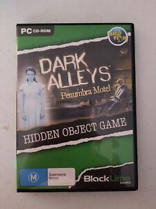 PC Game - #68 Dark Alleys Penumbra Motel Black Lime Big Fish Hidden Object