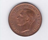 CB1441) Australia 1952 Melbourne Penny. Choice uncirculated