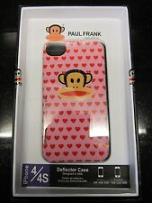 Hearts Paul Frank Iphone 4/4S Hard Protective Deflector Case Cover Uncommon Rare