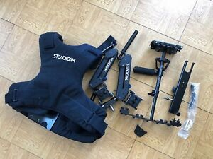 Steadicam Merlin Harness Vest & Stabilizer arm package with Glidecam HD-1000