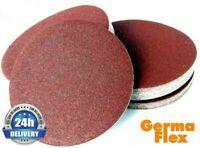 """150mm 6"""" Sanding Discs Pads Sandpaper Orbital Hook and Loop 40-600 Germa Flex"""