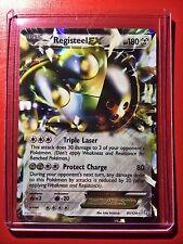 Pokemon card - Registeel EX Holo B&W Dragons Exalted Edition Ed 81/124 1st Mega