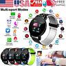 119Plus Smart Watch IP67 Waterproof Bracelet Heart Rate Monitor Fitness Tracker