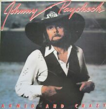 JOHNNY PAYCHECK - ARMED AND CRAZY - LP