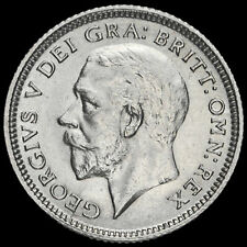 More details for 1926 george v silver sixpence, third coinage, scarce, a/unc