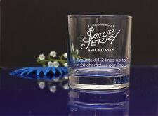 Personalised Sailor Jerry spiced rum Tumbler glass/present/gift Birthday,X-mas69