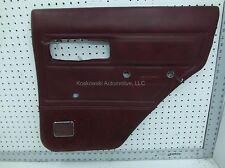 Jeep Cherokee Door Panel Right Rear Passenger Side Interior 86 Manual Windows