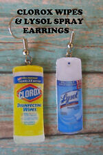 EARRINGS Cleaning Spray OR Wipes Dangled Earrings