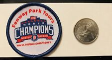 Boston Red Sox 2018 World Series Champions Patch Fenway Park Tours New MLB