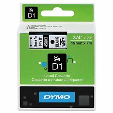 DYMO 45803 D1 Tape Cartridge for Dymo LabelManager and LabelWriter Duo Label Mak