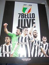 LIBRO BOOK OFFICIAL FC JUVENTUS JUVE 7 BELLO JUVE GAZZETTA 2017/2018