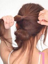 50pcs Hair Waved U-shaped Bobby Pin Black Barrette Salon Grip 6cm Clip Hairpins