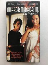 Mirror Mirror III: The Voyeur (VHS, 2000) Billy Drago, Monique Parent