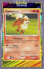 Caninos - Platine 02: Rivaux Emergeants - 63/111-Carte Pokemon Neuve Française