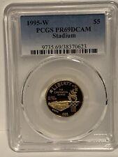 1995-W $5 Gold Stadium Gold Commemorative PCGS PR69DCAM