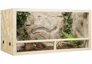 Holz terrarium 100 x 50 x 50 cm aus OSB, Seitenbelüftung