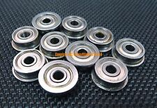 25 PCS 440c Stainless Steel FLANGE Ball Bearing Bearings SMF84zz MF84zz 4x8x3 mm