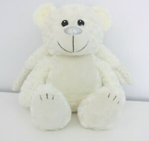 Angel Teddy, Memory Bear, Soft Toy Customisable Embroidable, Baby Loss, MY110