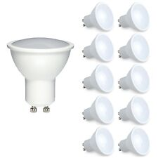 10x Dimmable GU10 6W LED Light Bulb Spotlight Lamp Cool/Warm Equals 50W Halogen