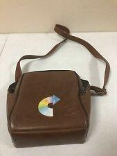 Vintage Kodak Brown Leather Field Case Camera Carrying Bag Strap aa48