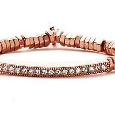 """Park Lane """"Serena"""" BRACELET w/ Austrian Crystals & Rose Gold  - Orig. $78  Nice"""