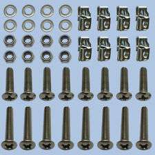 Door Hinge Bolt Kit Front Set STAINLESS STEEL Land Rover Series 3