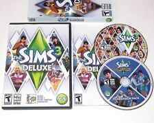 The Sims 3 Deluxe Game PC Complete Windows Mac 2010 Ambitions