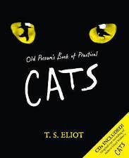Old Possum's Book of Practical Cats por T. S. Eliot, libro y 2 CD 's de los gatos