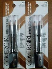 New! 2 Packs of Covergirl Professional Brown & Eye Makers 510 Brown, 4 Pencils