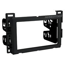 Metra 95-3302 Black Double-Din Radio Install Dash Kit for GM, Car Stereo Mount