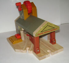 Wooden Thomas the Train Sodor Mining Co. Haunted Mine Collapsible Owl Light RARE