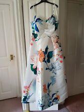 Coast Harper Printed Dress Size 16