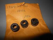 NOS Honda CB750K CB750A CB750F CX500TC CX650T Valve Stem Seal QTY3 12209-300-003