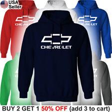 Chevrolet Hoodie Sweatshirt Chevy Sweater Shirt Bowtie Truck Racing Sport Impala