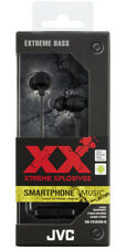 JVC Xtreme Xplosives In-Ear Headphone with In-Line Remote & Mic - Black
