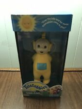 Teletubbies Laa-Laa Vinyl Action Figure Playskool 1998 New In Box M/NM Rare!