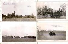 1952 J Bednar Advance 22 HP Steam Traction Engine Tractor Wheat Threshing Photos