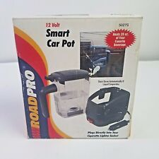 RoadPro 12V DC Smart Car Pot 5027S 20oz Auto Off Travel Hot Water Coffee Tea