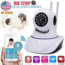 Wireless HD 720P Baby Night Vision Webcam 2-way WiFi IP Security Pan Tilt Camera
