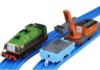 Tomy Trackmaster Thomas & Friends Gator Motorized Train With Carry Car Marion