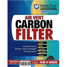 Carbon Air Vent Register Filter Nordic Pure 6 Pack