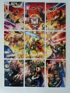 SDCC Comic Con 2014 EXCLUSIVE TOPPS Mars Attacks cards Scavenger Hunt Puzzle