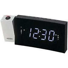 Jensen Jcr238 Digital Dual Alarm Projection Clock Radio