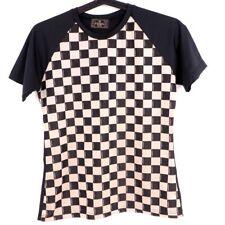 Vintage Fendi Never Used Tops T-Shirt Monogram Checker .
