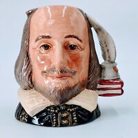 """Royal Doulton """"Shakespeare"""" Jug D 6938 Small 3 1/2"""". Mint. Pre-owned."""