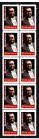 LUCIANO PAVAROTTI OPERA STRIP OF 10 MINT VIGNETTE STAMPS #3